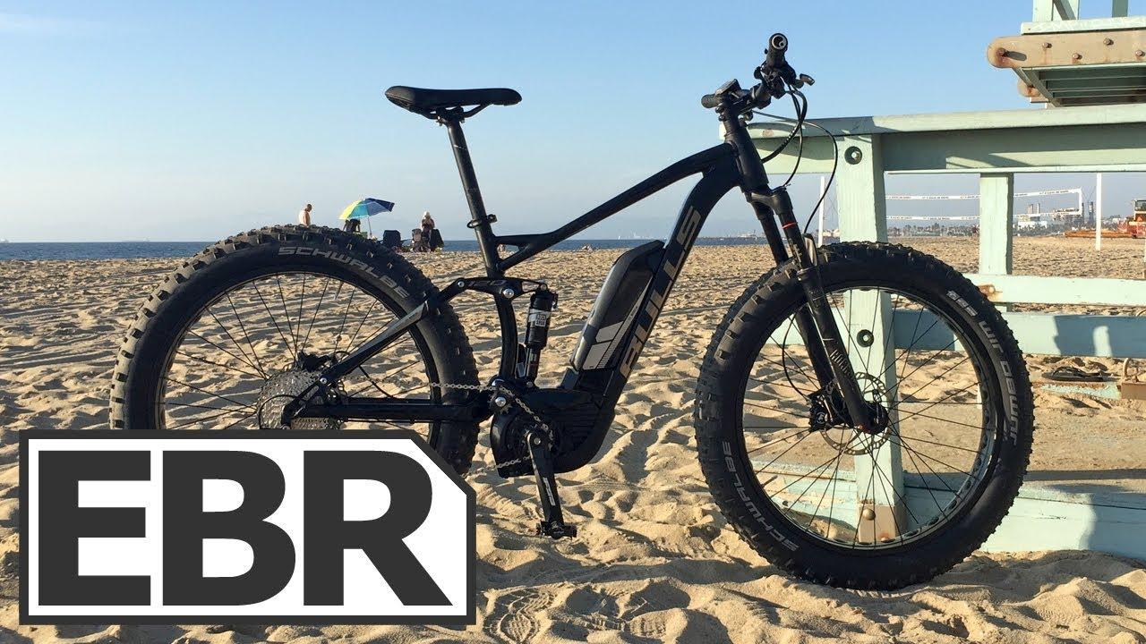 bulls monster e fs video review full suspension fat tire electric mountain bike youtube. Black Bedroom Furniture Sets. Home Design Ideas