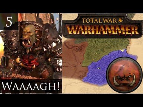 Total War Warhammer Greenskins Campaign 5