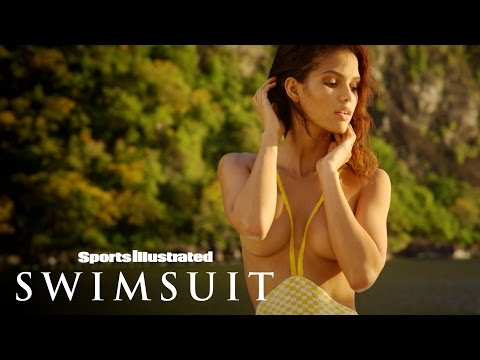 Cris Urena Bares All For Her One-Of-A-Kind Body Painting | Sports Illustrated Swimsuit