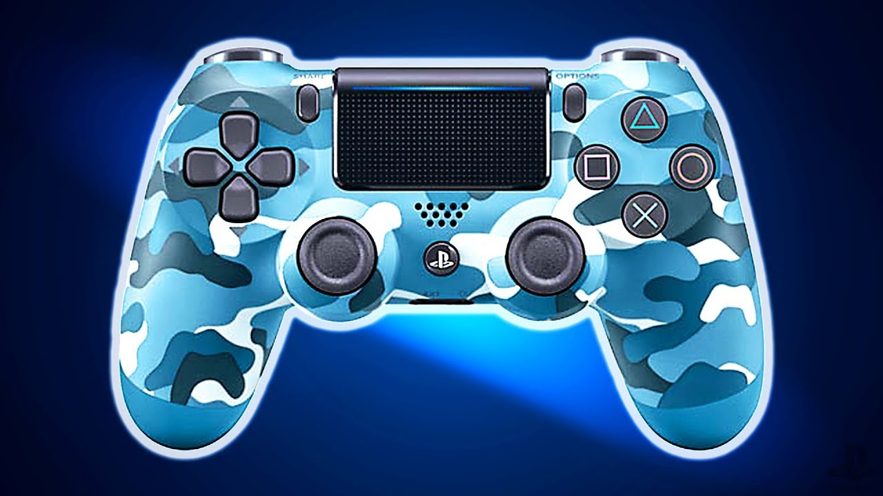 nouvelle manette ps4 blue camouflage dualshock 4 bande annonce sp ciale dition 2018 youtube. Black Bedroom Furniture Sets. Home Design Ideas