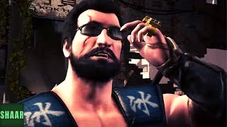 Mortal Kombat X - All Characters Swapping Intros with Johnny Cage