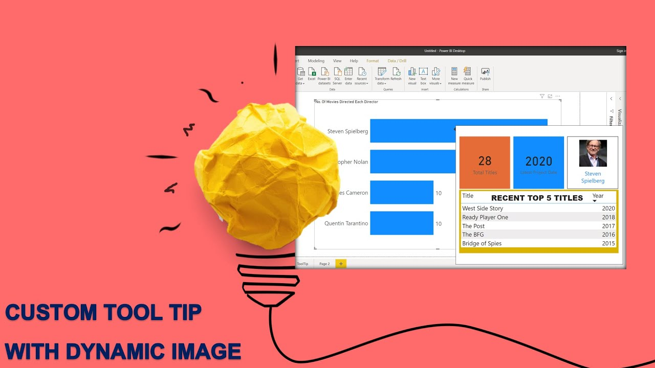 Customized Tool-tip in Power BI || Create Custom Tool-tip with Dynamic Image on Mouse Hover