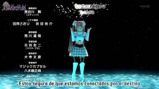 Miss Monochrome Ending - Poker Face Sub Español + FULL MP3  VERSION