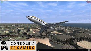 FSX Captain Sim 727 Take off Cardiff Aiport
