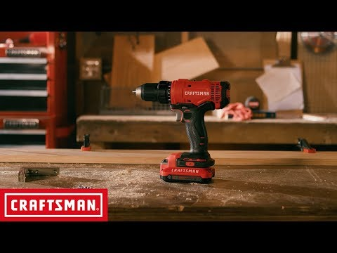 CRAFTSMAN V20* 1/2-in. Cordless Drill/Driver Kit | Tool Overview