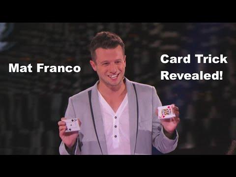 Mf Transpo Mat Franco Card Trick Variation Revealed