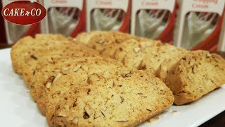 Almond Biscotti / recipe by Cake n Co
