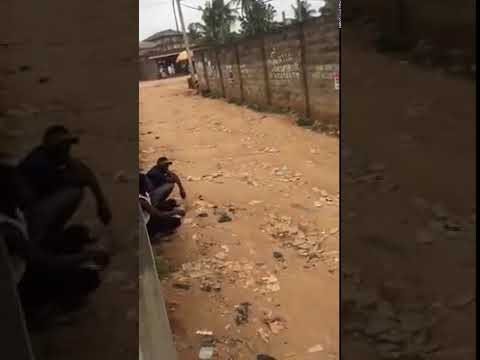 Yahoo Boys Weep As SARS Officer Threatens To Kill Them (Must Watch Video)