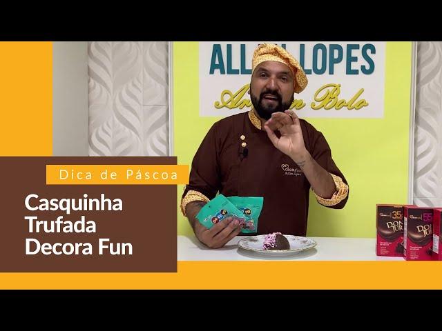Casquinha Trufada Decora Fun | Cacau Foods