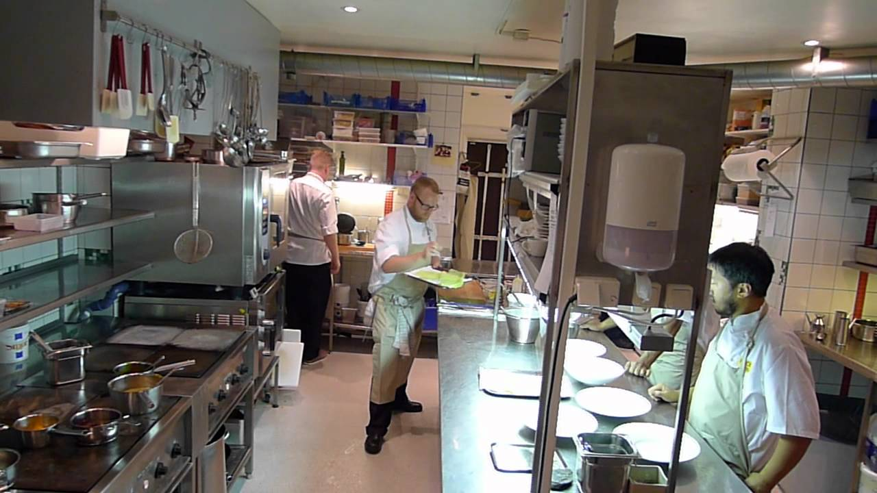 Busy Restaurant Kitchen busy kitchen at kock & vin - youtube