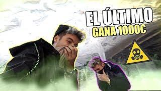 EL ÚLTIMO en SALIR DE LA BURBUJA TÓXICA GANA 1000€ *NIVEL DIOS* [Logan G]