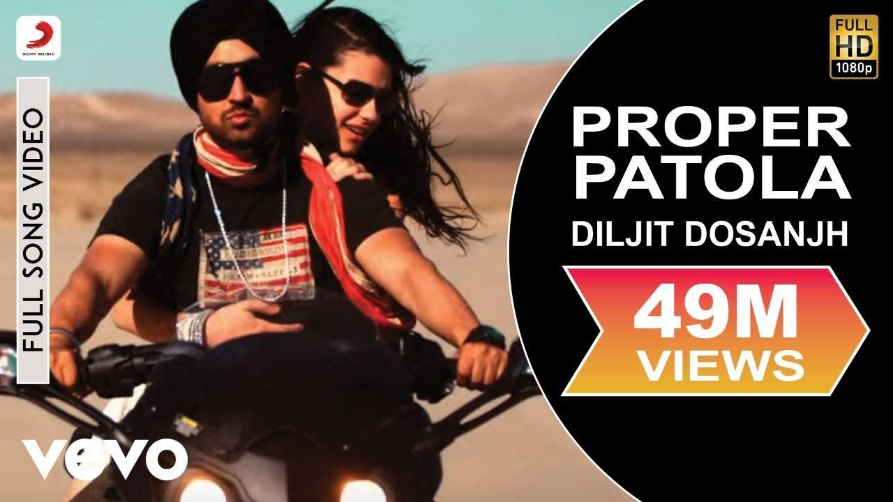 Download Diljit Dosanjh - Diljit Dosanjh Proper Patola feat. Badshah Full Video ft. Badshah