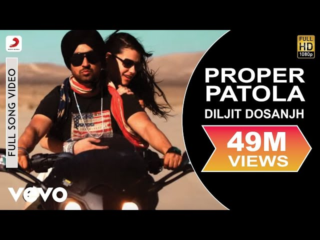 Diljit Dosanjh - Diljit Dosanjh Proper Patola feat. Badshah Full Video ft. Badshah