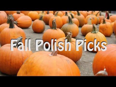 Fall Polish Picks Collab With Nail Polish Pursuit