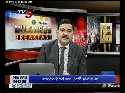 9th Nov 2018 TV5 News Business Breakfast