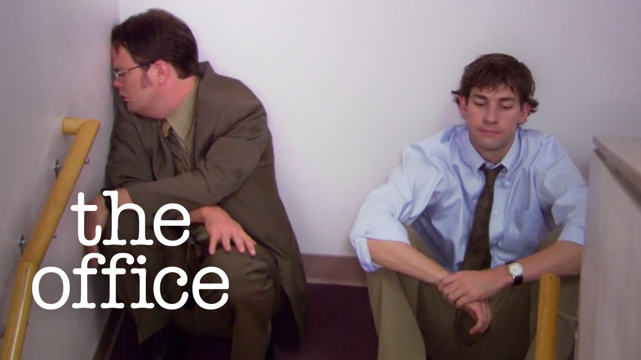 Jim Dwight Have A Heart To Heart The Office Us Youtube