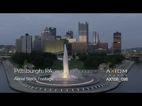 Pittsburgh, PA Aerial Footage