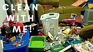 ALL DAY CLEAN WITH ME CLEANING MOTIVATION KIDS' ROOMS PLAYROOM ORGANIZE AND CLEAN