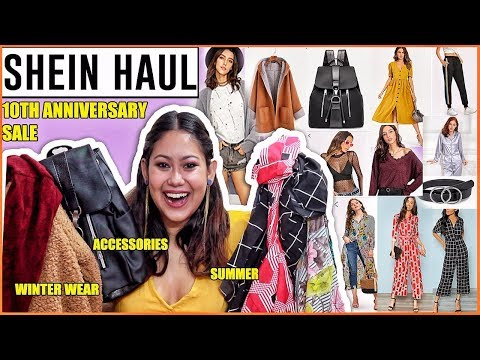 3393946c5c SHEIN INDIA HAUL | Best Products From 10th Anniversary | ThatQuirkyMiss -  YouTube