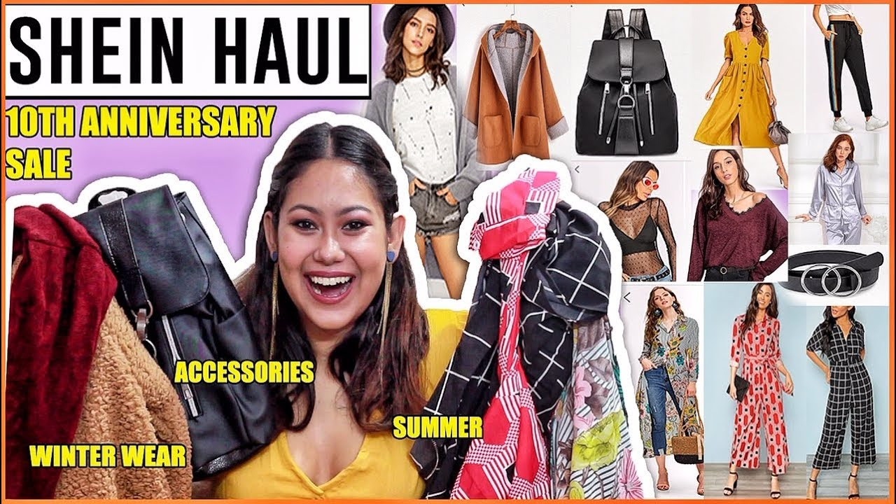 7ff8ab1b25 SHEIN INDIA HAUL | Best Products From 10th Anniversary ...