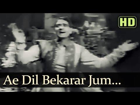 Ae Dil Bekarar Jum - Shahjehan Songs - K.L. Saigal - Ragini - Rehman - Naushad