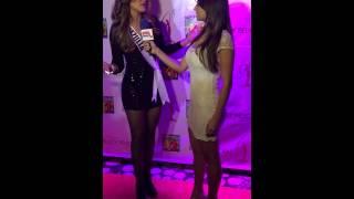 Miss Venezuela Universe 2014 Migbelis Castellanos interviewed by Doral TV in Best Buddies Dinner Thumbnail