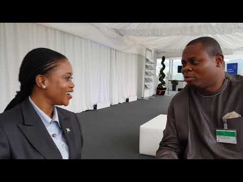 IMANI President interviews Botswana Minister of Trade Investment & Industry . Interview location- Sw
