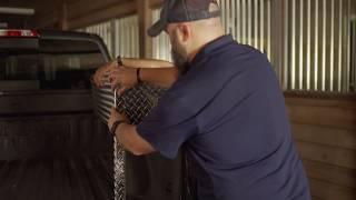 Side Mount Truck Box Installation