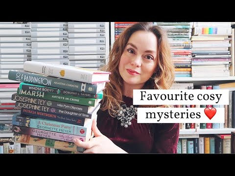 My Favourite Cosy Mystery Writers