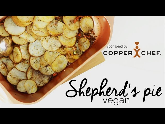 Vegan Shepherd's Pie & GIVEAWAY