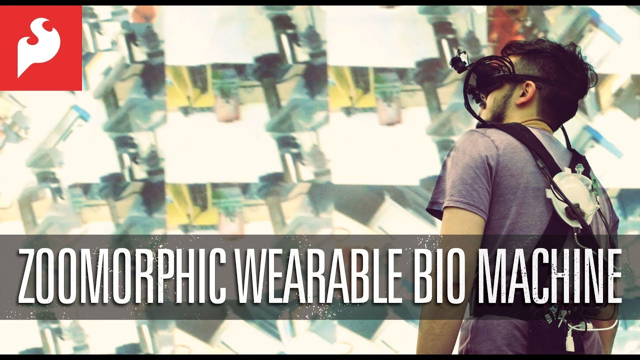 """Zoomorphic"" Wearable Bio Machine"