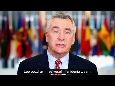 Brent R. Hartley, U.S. Ambassador to the Republic of Slovenia