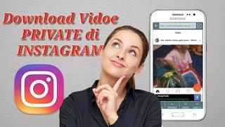 cara download video instragram yang di private