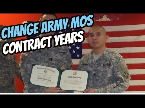 Can I CHANGE my ARMY MOS and PICK CONTRACT Length?