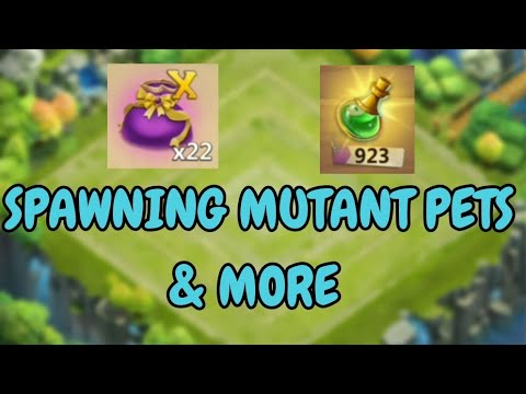 Spawning Mutant Pets & More L Castle Clash
