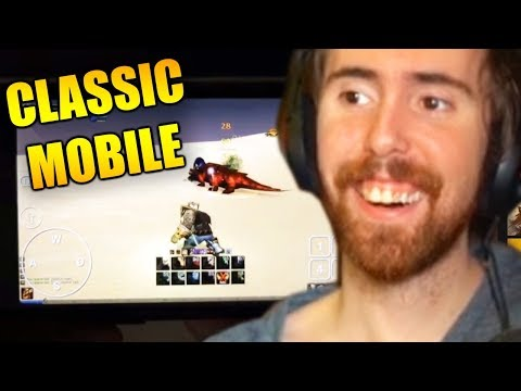 Asmongold's Reacts To Playing Classic WoW On My Phone By Force Gaming