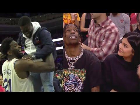 Celebrities at NBA Games #2