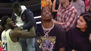 Celebrities at NBA Games #2