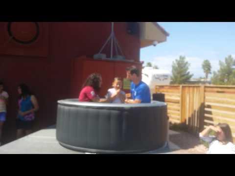 The Taul Boys got baptized.