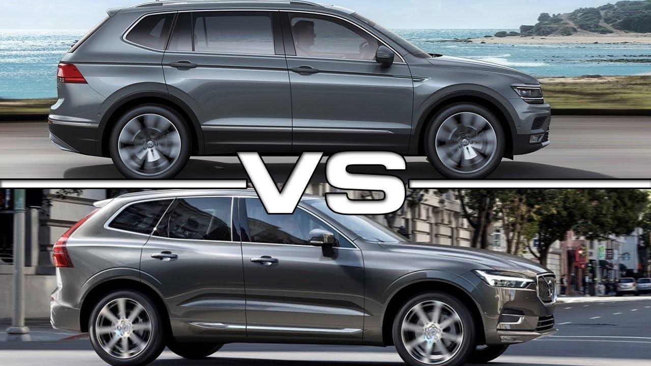 2018 Volkswagen Tiguan Allspace vs 2018 Volvo XC60 - YouTube