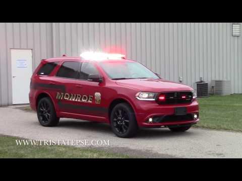 2017 Dodge Durango ~ Monroe Fire Chief Vehicle Install (Ohio)