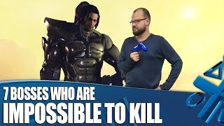 7 Videogame Bosses Who Are Literally Impossible To Kill