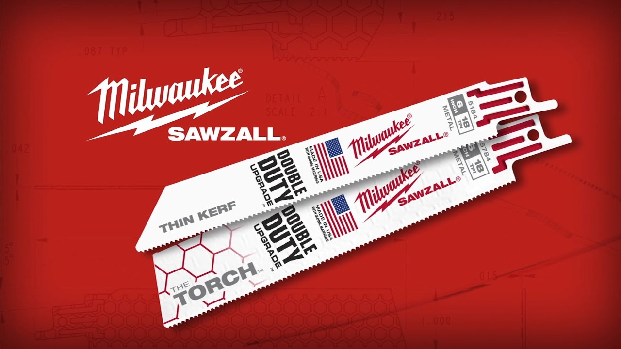 Milwaukee 174 Sawzall 174 Blades With The Double Duty Upgrade