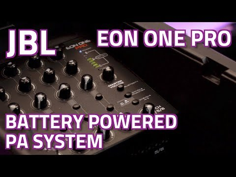 JBL Eon One Pro Battery Powered PA System