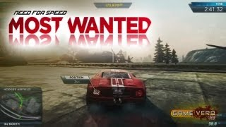 NFS Most Wanted Ford GT Night Race Gameplay Walkthrough Need for Speed MW Xbox 360/PS3/PC