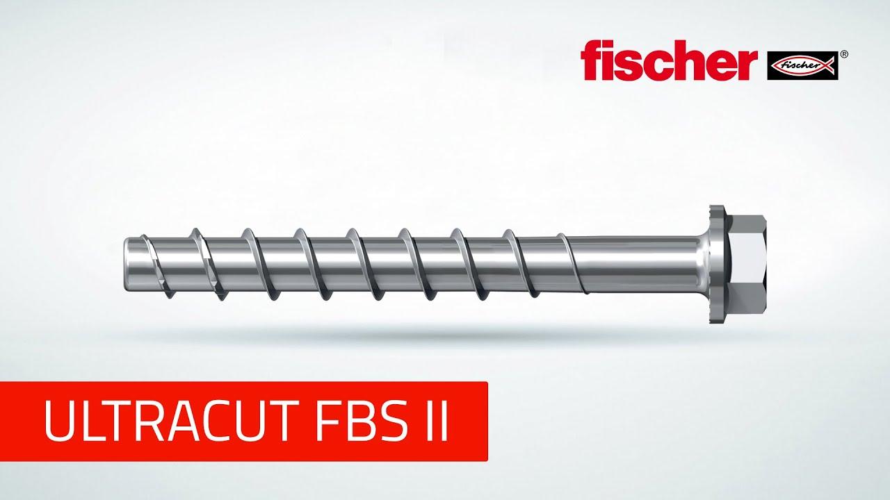 Vis à Béton Fischer Ultracut Fbs Ii