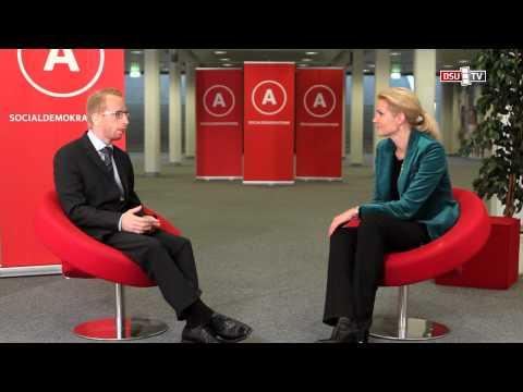 S-kongres 2012: Interview med statsminister Helle Thorning-Schmidt