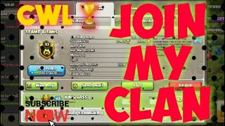 🔥JOIN MY CLAN🔥 | COC #CLASHOFCLANS