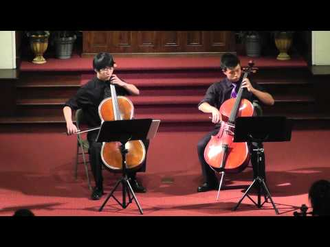Amazing Grace with Bach, Cello Duet