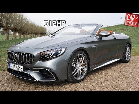 INSIDE The NEW Mercedes AMG S 63 4MATIC+ Cabriolet 2019 | Interior Exterior DETAILS /w REVS